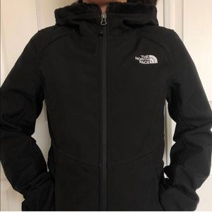 NorthFace, Women's Windwall hooded jacket